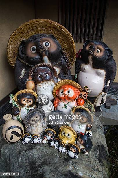 Tanuki Family Tanuki is the Japanese word for a raccoon These creatures have been represented in Japanese folklore for hundreds of years The tanuki...