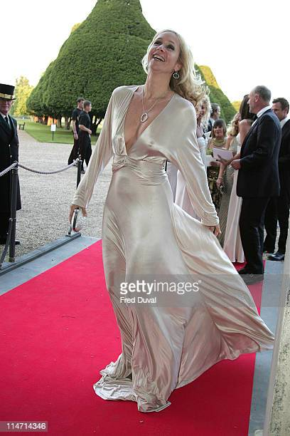 Tanya Bryer during Raisa Gorbachev Foundation Party Red Carpet at Hampton Court Palace in London United Kingdom