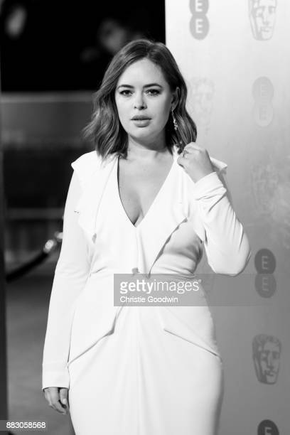 Tanya Burr at the British Academy Film Awards 2017 at The Royal Albert Hall on February 12 2017 in London England