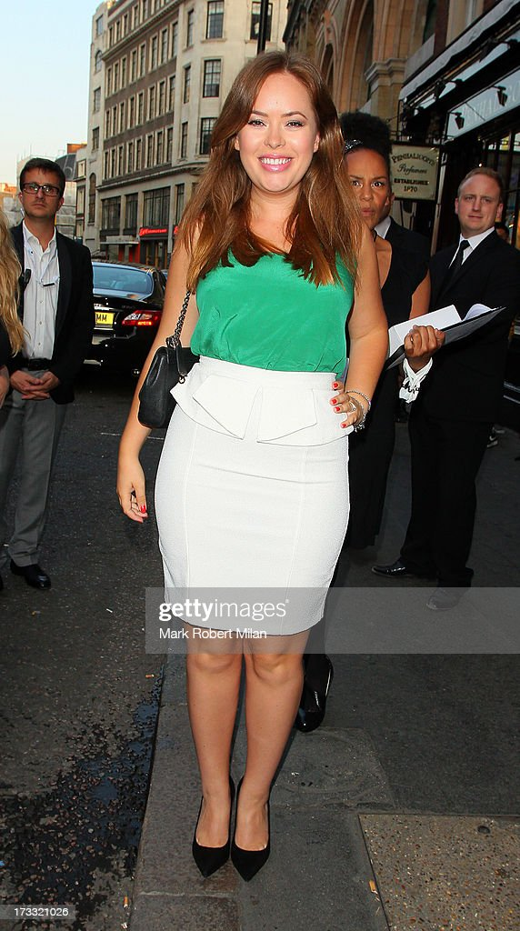 Tanya Burr attending the Infiniti Gate Experience party on July 11, 2013 in London, England.