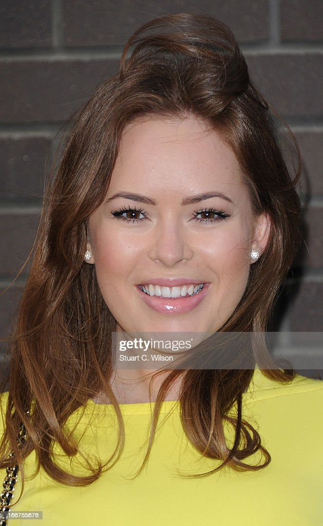 Tanya Burr attends as Chickenshed perform a caberet showcase at The London Television Centre on April 16, 2013 in London, England.