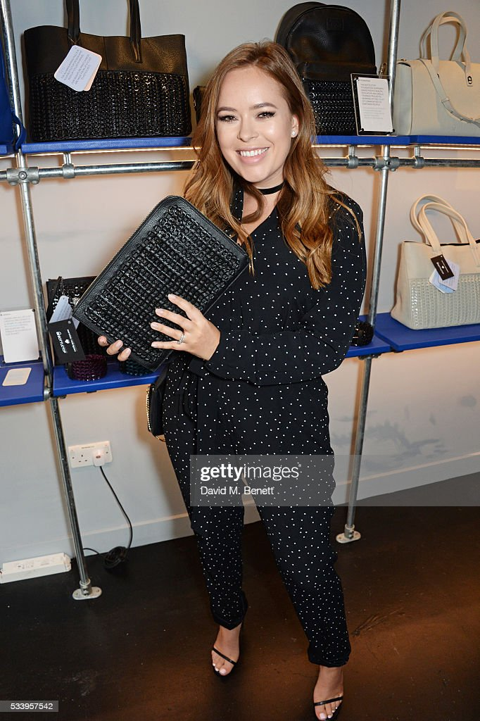 <a gi-track='captionPersonalityLinkClicked' href=/galleries/search?phrase=Tanya+Burr&family=editorial&specificpeople=9983702 ng-click='$event.stopPropagation()'>Tanya Burr</a> attends the Bottletop Regent Street store launch on May 24, 2016 in London, England.