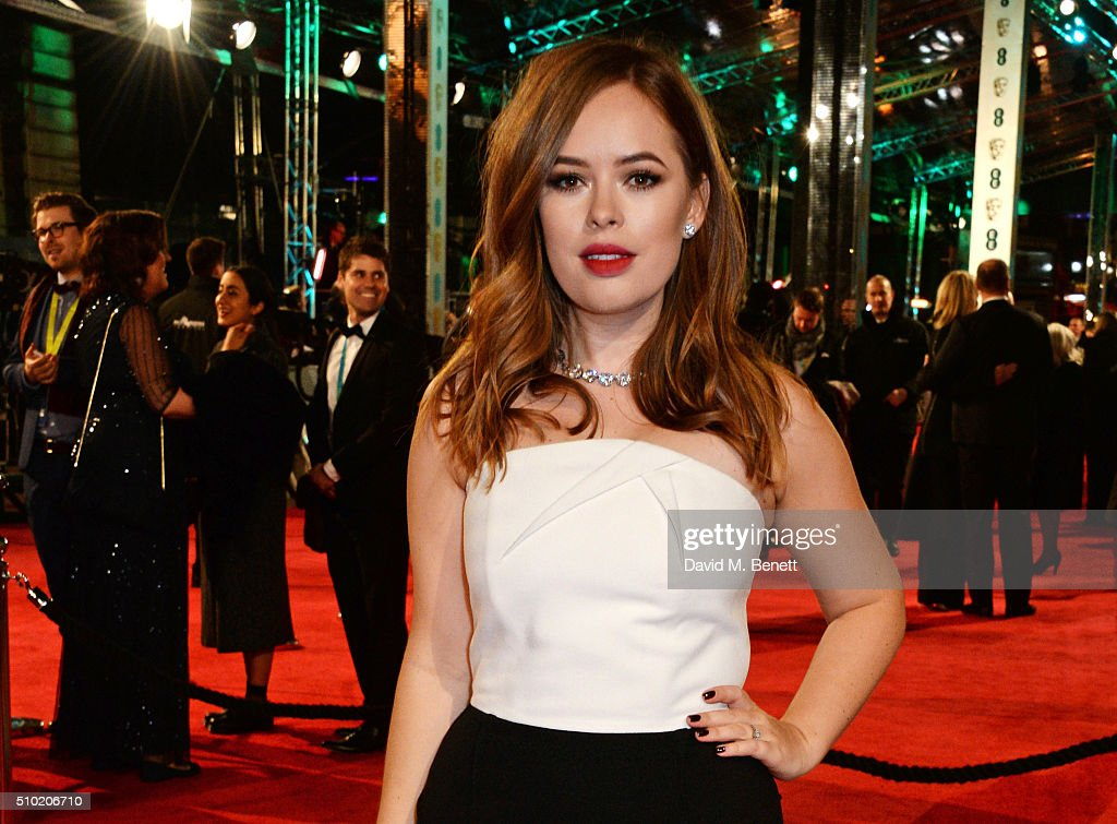 <a gi-track='captionPersonalityLinkClicked' href=/galleries/search?phrase=Tanya+Burr&family=editorial&specificpeople=9983702 ng-click='$event.stopPropagation()'>Tanya Burr</a> attends the EE British Academy Film Awards at The Royal Opera House on February 14, 2016 in London, England.