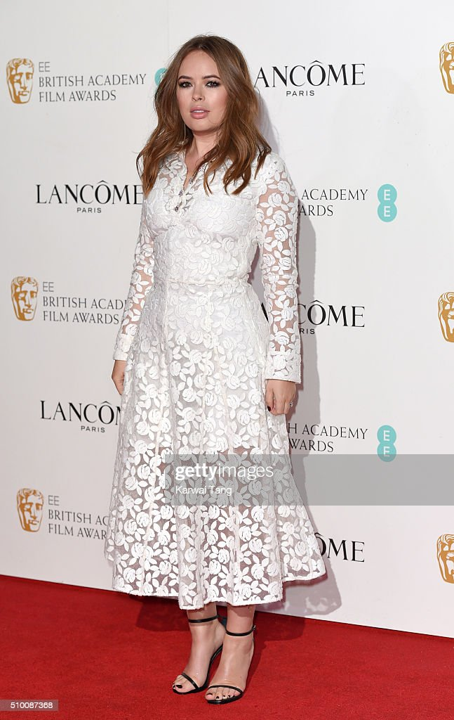 <a gi-track='captionPersonalityLinkClicked' href=/galleries/search?phrase=Tanya+Burr&family=editorial&specificpeople=9983702 ng-click='$event.stopPropagation()'>Tanya Burr</a> attends the Lancome BAFTA nominees party at Kensington Palace on February 13, 2016 in London, England.