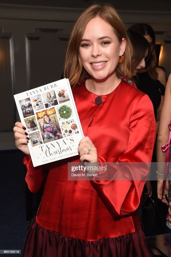 """Tanya's Christmas"" By Tanya Burr - Book Launch At Claridges"