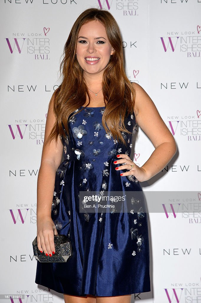 Tanya Burr attends the New Look Winter Wishes Charity Ball at Battersea Evolution on November 6, 2013 in London, England.