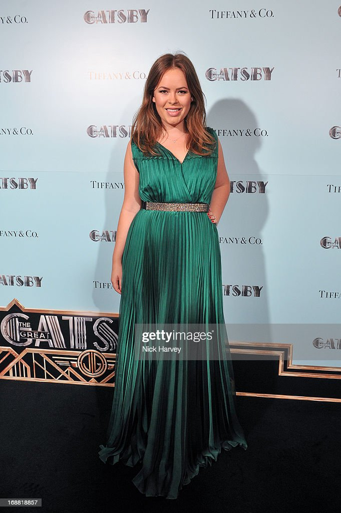 Tanya Burr attends the Tiffany & Co. and Warner Brothers special screening of The Great Gatsby on May 15, 2013 in London, England.