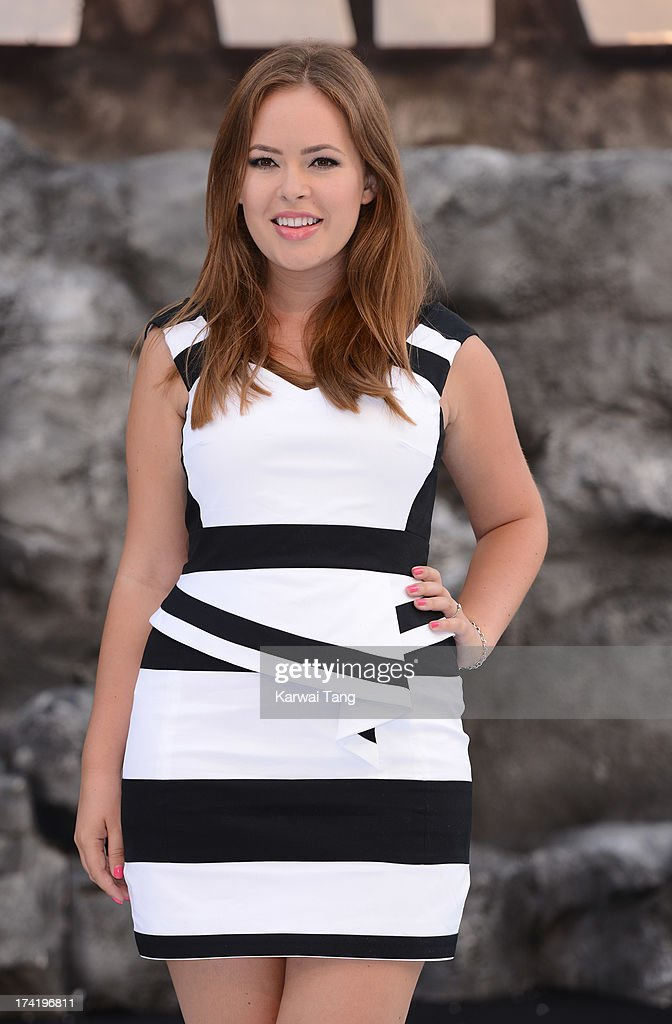 Tanya Burr attends the UK Premiere of 'The Lone Ranger' at Odeon Leicester Square on July 21, 2013 in London, England.