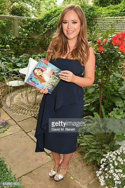 Tanya Burr hosts an intimate dinner to launch her first cookbook 'Tanya Bakes' at Number Sixteen on June 30 2016 in London England