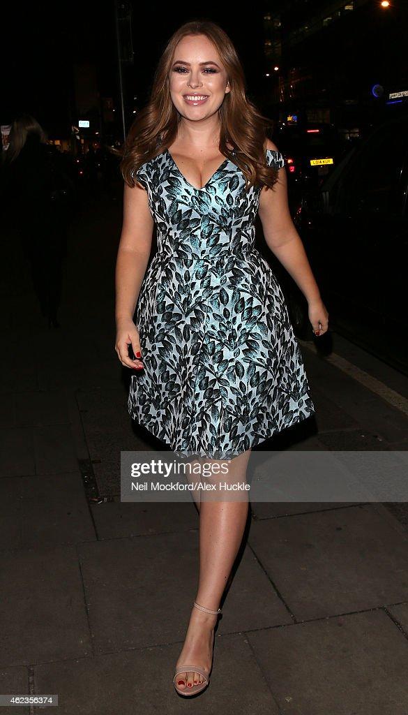 London Celebrity Sightings -  January 27, 2015