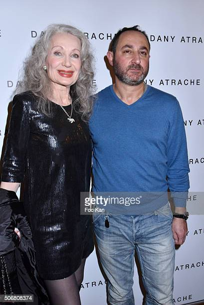 Tanya DrounginskaÊand Dany Atrache attend the Dany Atrache Spring Summer 2016 show as part of Paris Fashion Week on January 25 2016 in Paris France