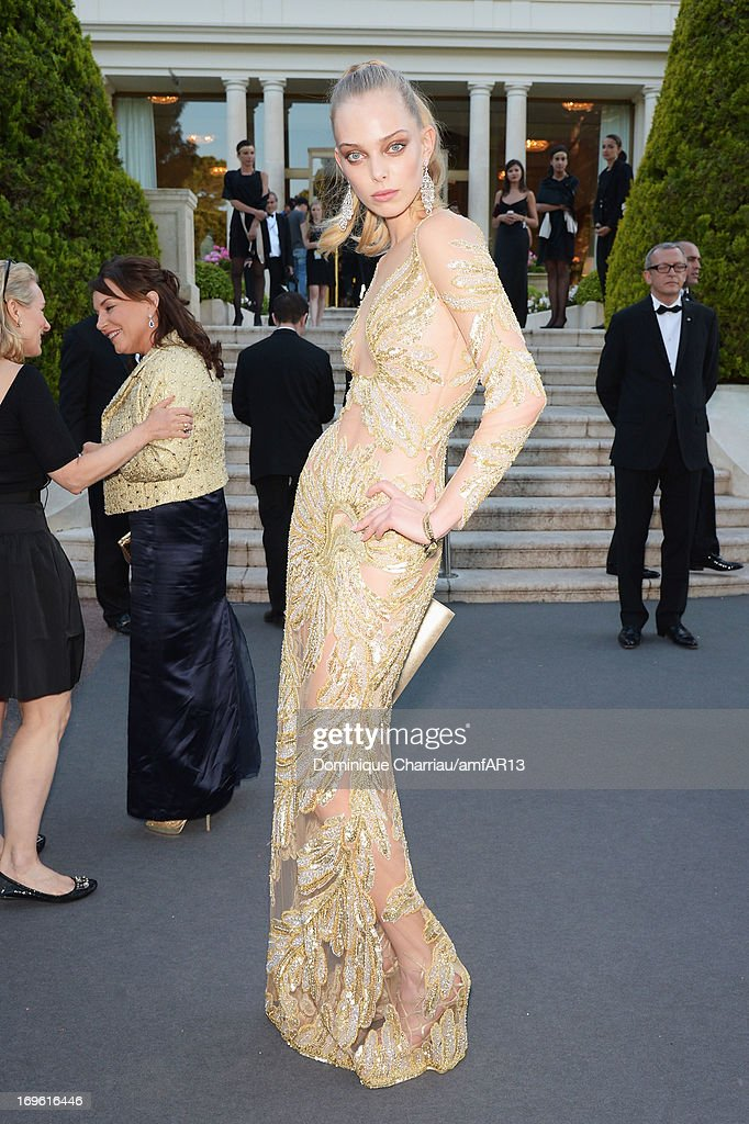 Tanya Dziahileva attends amfAR's 20th Annual Cinema Against AIDS during The 66th Annual Cannes Film Festival at Hotel du Cap-Eden-Roc on May 23, 2013 in Cap d'Antibes, France.