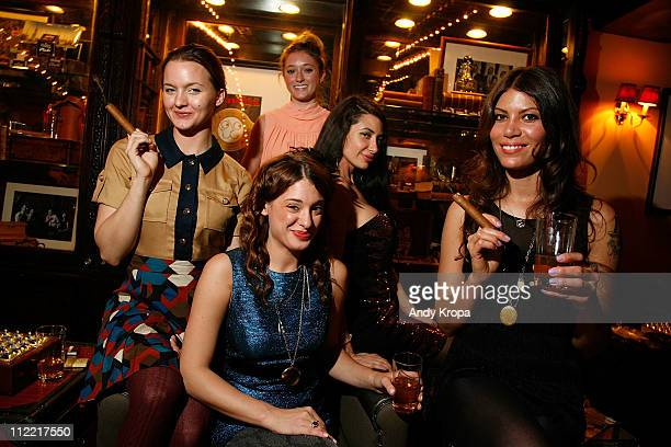 Tanya Fischer Ashley Stanton Megan Miller Lynne Marie Volk and Dawn Dunning attend the Creative Coalition friends celebration of the Broadway show...