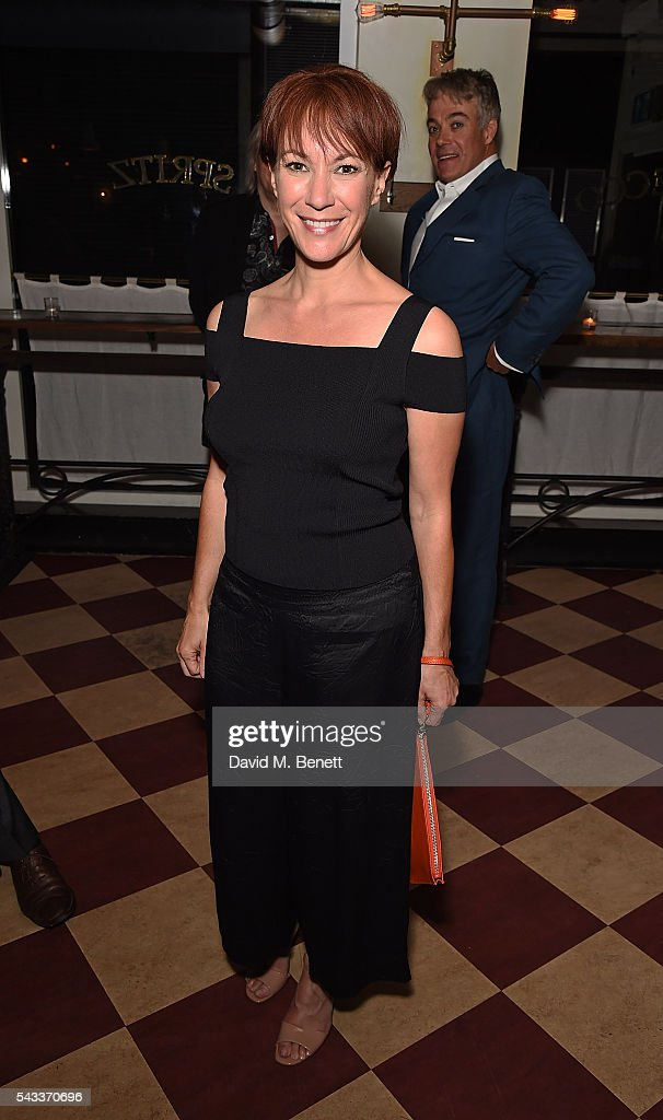 Tanya Franks attends the after party of 'The Truth' at Polpo At The Ape and Bird on June 27, 2016 in London, England.