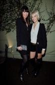 Tanya Gill and designer Vanessa Bruno attend Vanessa Bruno Celebrates One Year Anniversary In Los Angelesat Lucques Restaurant on November 9 2011 in...