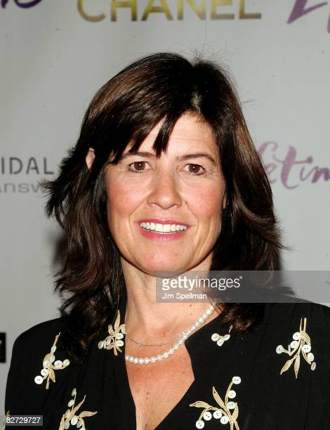 Tanya Lopez Senior Vice President of Lifetime Original Movies attends the New York premiere of 'Coco Chanel' at the Joseph Urban Theater at the...
