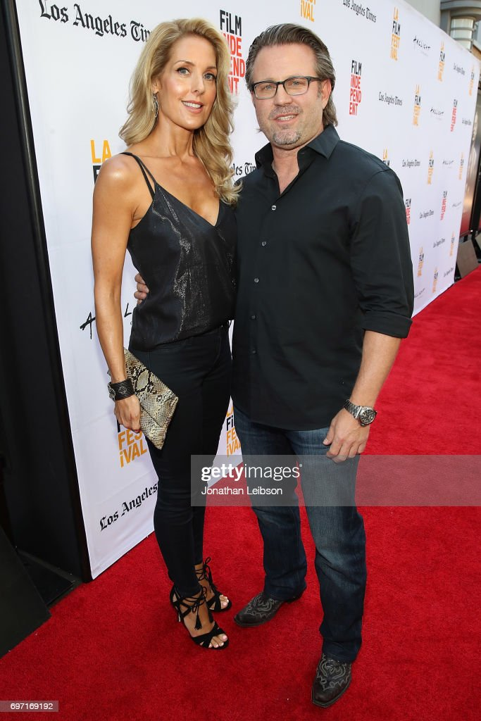 Tanya Lynn Waugh and Ric Roman Waugh attend theAT&T And Saban Films Present The LAFF Gala Premiere Of Shot Caller at ArcLight Cinemas on June 17, 2017 in Culver City, California.