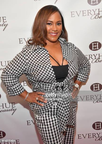 Tanya Parker attends EveryHue PopUp Shop at Swagg Boutique on July 13 2017 in Atlanta Georgia