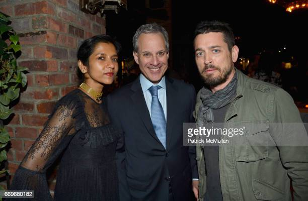 Tanya Selvaratnam New York Attorney General Eric Schneiderman and Dana Brown attend The Turtle Conservancy's 4th Annual Turtle Ball at The Bowery...
