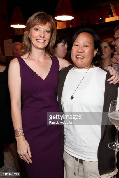 Tanya Steel and Anita Lo attend Epicurious 15th Anniversary Dinner at Eataly on September 29 2010 in New York