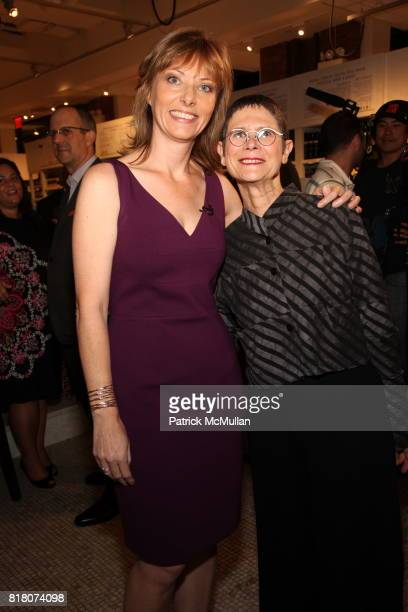 Tanya Steel and Dorie Greenspan attend Epicurious 15th Anniversary Dinner at Eataly on September 29 2010 in New York