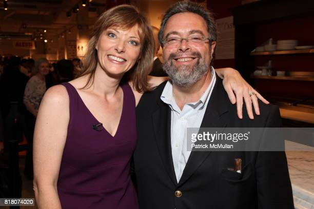 Tanya Steel and Drew Nieporent attend Epicurious 15th Anniversary Dinner at Eataly on September 29 2010 in New York