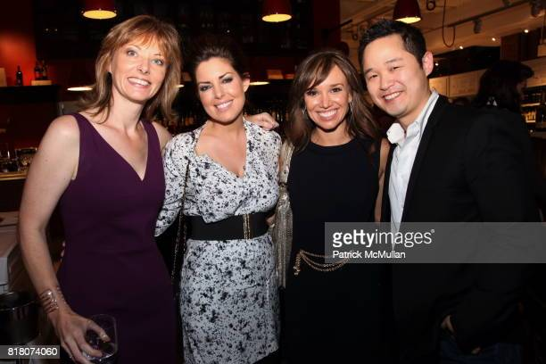 Tanya Steel Bobbi Thomas Sarah Gore and Danny Seo attend Epicurious 15th Anniversary Dinner at Eataly on September 29 2010 in New York