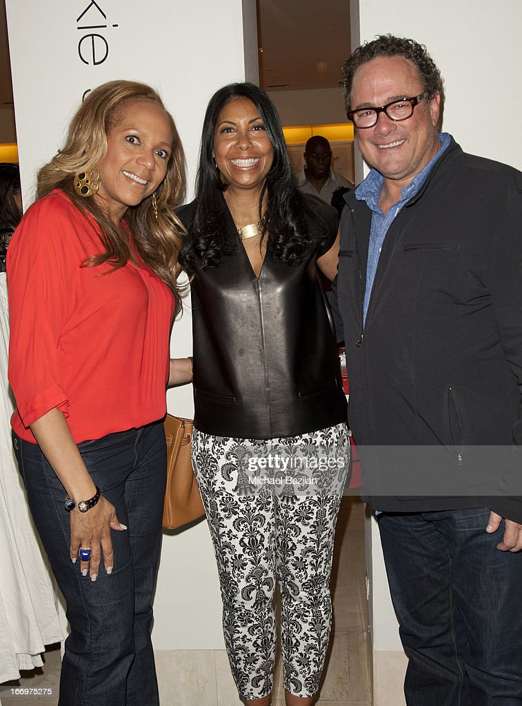 Tanya Winfield, Cookie Johnson and Mitchell Quaranta attend Cookie Johnson And Neiman Marcus Host Girls Night Out on April 18, 2013 in Beverly Hills, California.