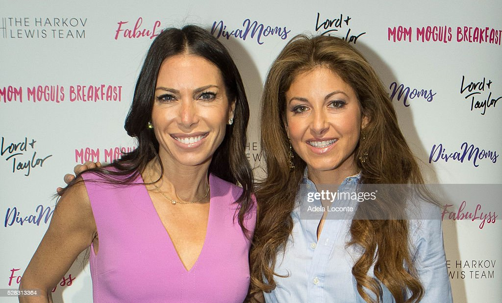 Tanya Zuckerbrot and Dylan Lauren attend '4th Annual DivaMoms Mom Moguls Breakfas' tat Lord & Taylor on May 4, 2016 in New York City.