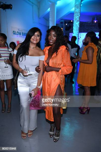 Tanyka Renee Henry attends the Essence Toyota Future 15 Event at Root NYC on June 22 2017 in New York City