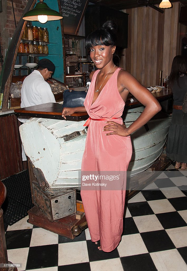 Tanyka Renee visits 'On The Spot With Dr.G' at Preserve 24 on August 20, 2013 in New York City.