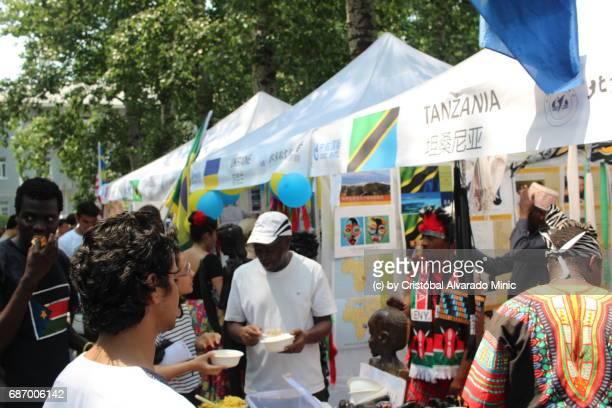 Tanzania Exhibition Stand, Beijing