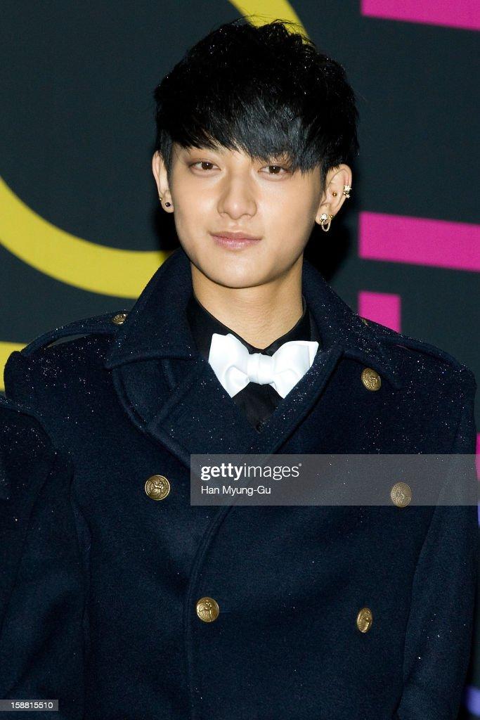 Tao of boy band EXO-M arrives at the 2012 SBS Korea Pop Music Festival named 'The Color Of K-Pop' at Korea University on December 29, 2012 in Seoul, South Korea.