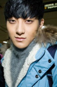 Tao of boy band EXOM is seen at Gimpo International Airport on January 27 2013 in Seoul South Korea