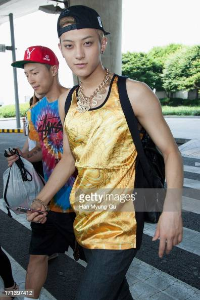 Tao of boy band EXOM is seen upon arrival at Incheon International Airport on June 24 2013 in Incheon South Korea