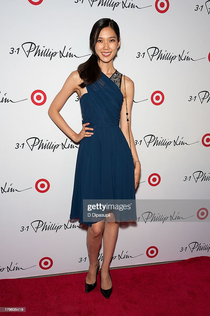 Tao Okamoto attends the 3.1 Phillip Lim for Target Launch Event at Spring Studio on September 5, 2013 in New York City.