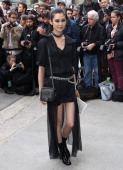 Tao Okamoto attends the Chanel show at Grand Palais during Paris Fashion Week Womenswear Spring/Summer 2014 on September 30 2013 in Paris France