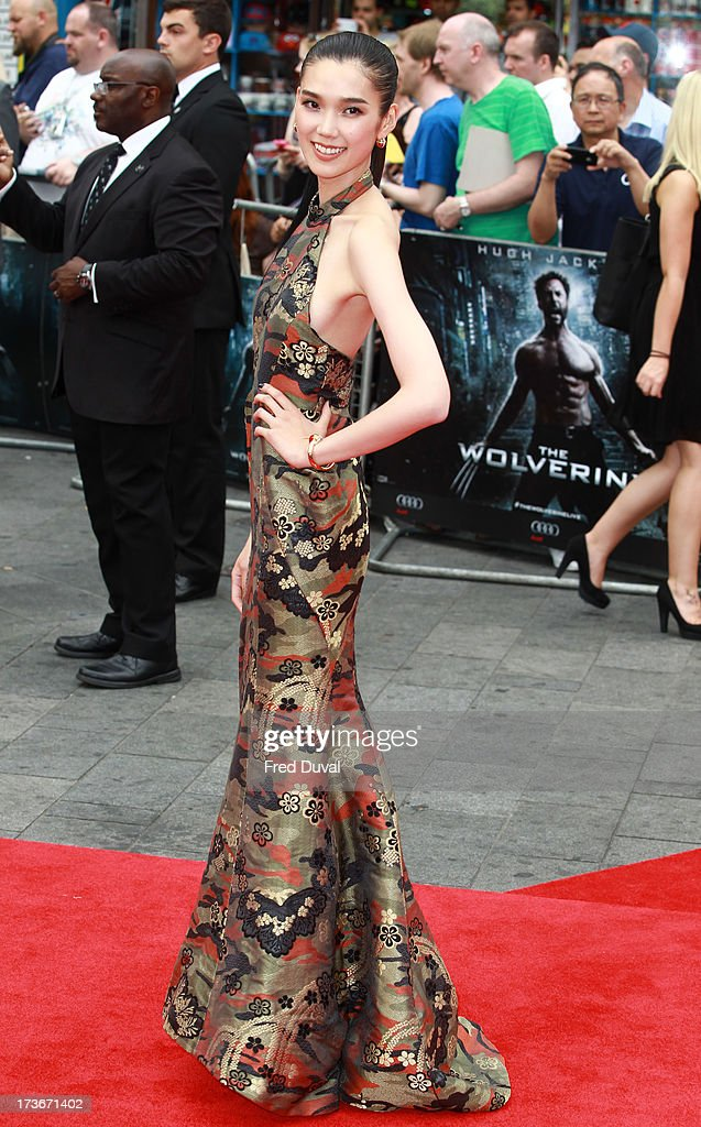 <a gi-track='captionPersonalityLinkClicked' href=/galleries/search?phrase=Tao+Okamoto&family=editorial&specificpeople=6147528 ng-click='$event.stopPropagation()'>Tao Okamoto</a> attends the UK film premiere of 'The Wolverine' at The Empire Cinema on July 16, 2013 in London, England.