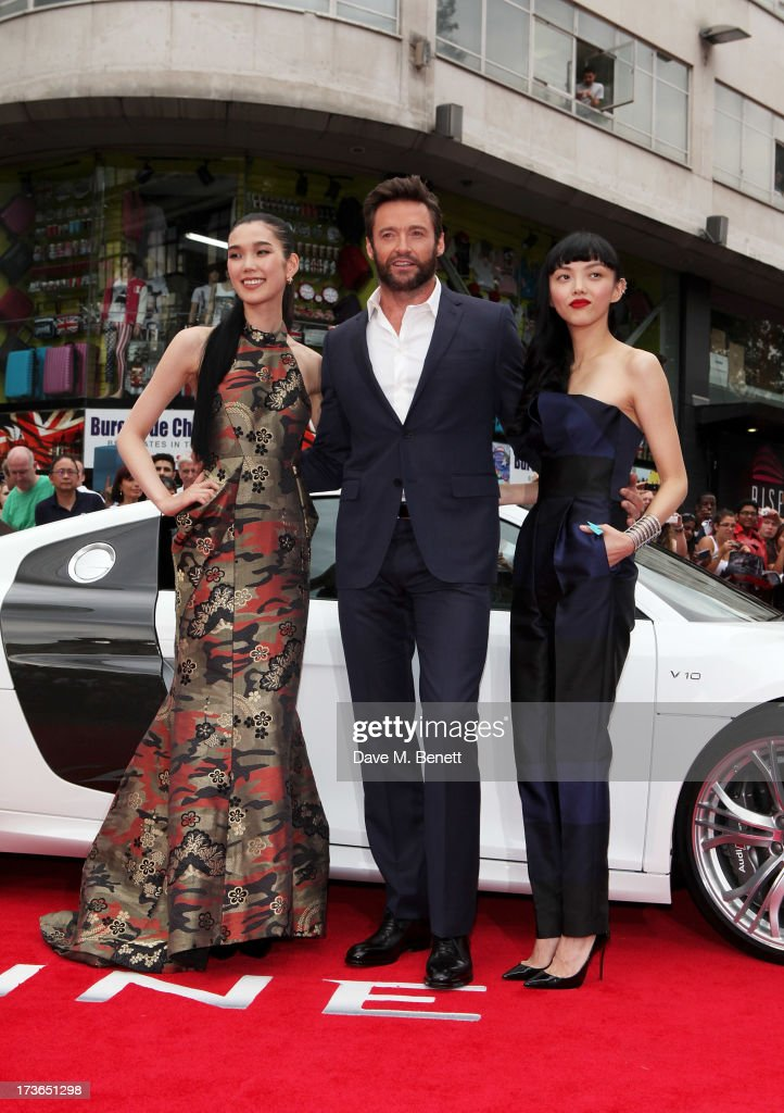 The Wolverine - UK Premiere - Inside Arrivals