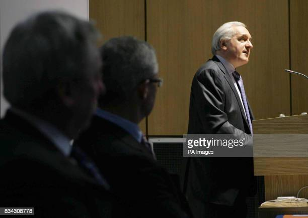 Taoiseach Bertie Ahern gave a speech as part of a discussion on the Good Friday Agreement called 'From Conflict to Consensus The Legacy of the Good...