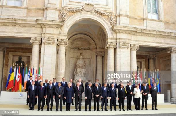 Taoiseach of Ireland Enda Kenny Hungary's prime Minister Viktor Orban President of Bulgaria Rumen Radev President of Cyprus Nicos Anastasiades...