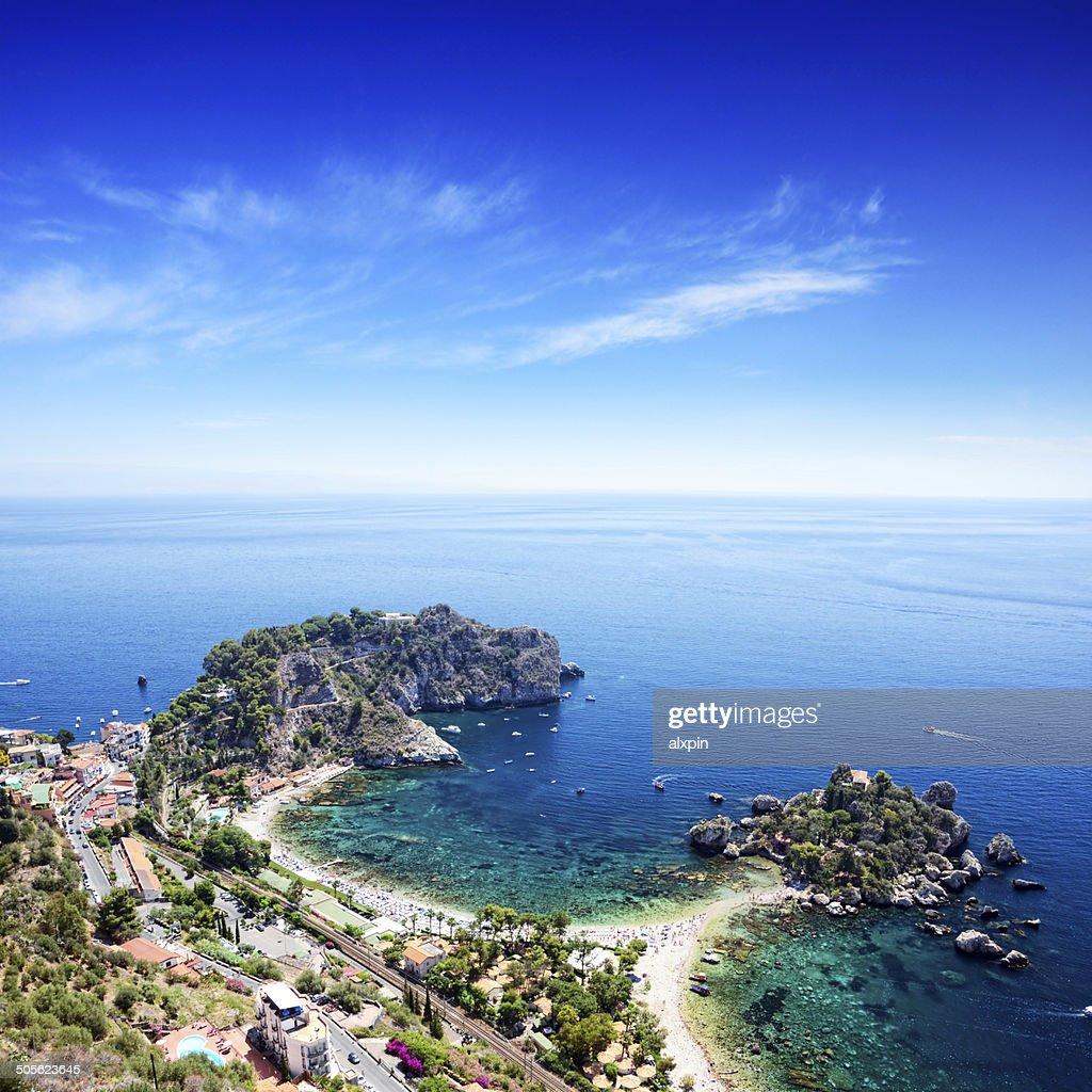 Taormina Beach, Sicily