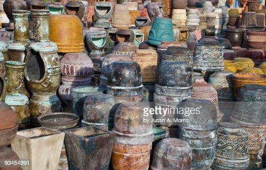 Taos pottery