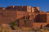 Taourirt Kasbah built by Pasha Glaoui Ouarzazate UNESCO World Heritage Site Ouarzazate Province Morocco North Africa