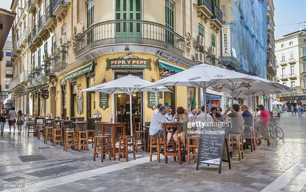 Tapas Bar in Malaga's historic center
