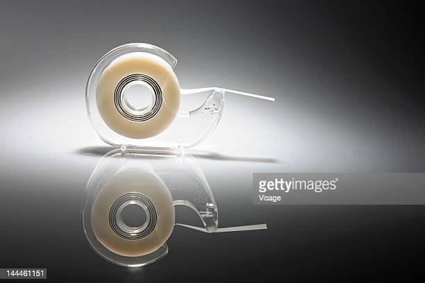Tape dispenser, close up