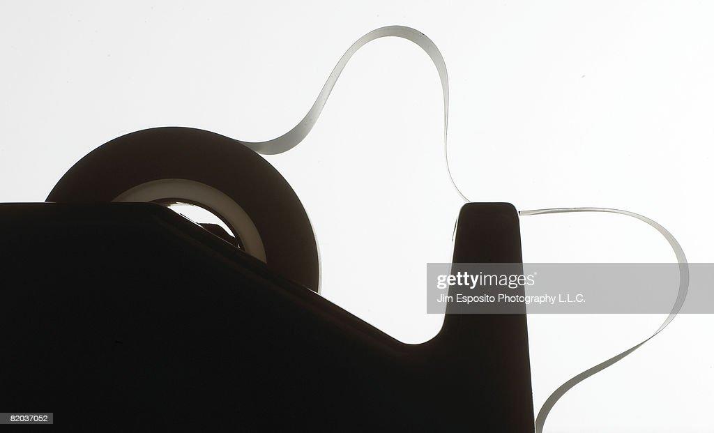 Tape Dispenser : Stock Photo