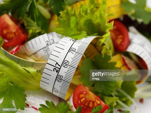 Tape Measure and Salad