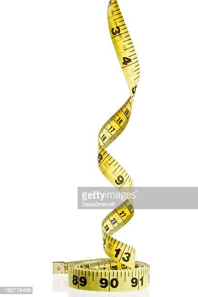 Tape Measure spirals upwards