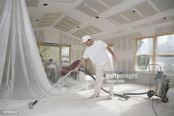 Taper Vacuuming Dust